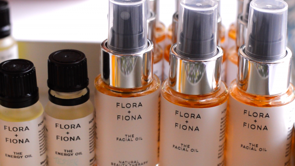 Flora and Fiona - new facial oils