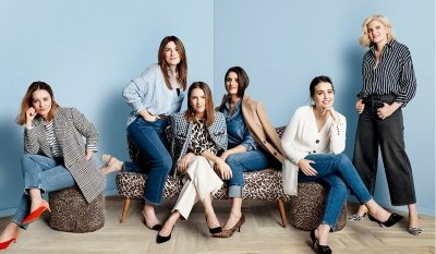 Denim for all ages: the Marks and Spencer PR team