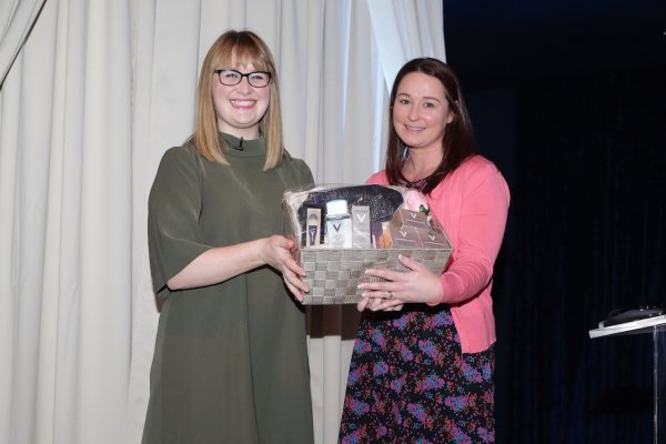 One lucky winner took home a fabulous Vichy Hamper.