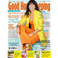 Davina McCall on menopausal symptoms - February issue of Good Housekeeping