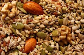 Nuts and seeds are good sources of Omega-6