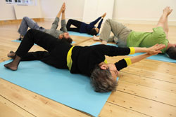 Feldenkrais, find physical ease in  daily movements.